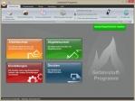 Startseite des Gefahrstoffprogramms mit aufgabenorientierter Benutzerführung